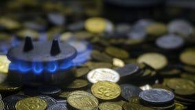Crise ucraniana do gás fotografia de stock