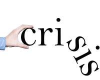 Crisi Immagini Stock
