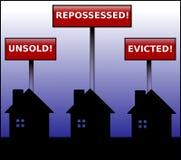 Crisi della proprietà Immagine Stock Libera da Diritti
