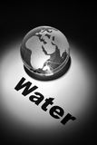 Crisi di acqua globale Fotografia Stock Libera da Diritti