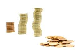 Crisi di attività bancarie Immagini Stock