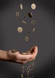 Crisi di Finacial Immagini Stock Libere da Diritti