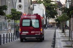 Crisi di salute pubblica in Rio de Janeiro Fotografia Stock Libera da Diritti