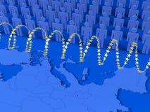 Crisi europea del rifugiato Immagini Stock Libere da Diritti
