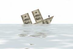 ?crisi finanziaria? Fotografie Stock