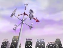 Crisi finanziaria del mondo Immagine Stock Libera da Diritti