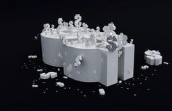 Crisi globale Immagine Stock