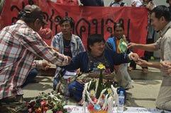 Crisi politica tailandese Fotografia Stock Libera da Diritti