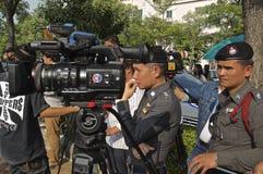 Crisi politica tailandese Immagini Stock Libere da Diritti