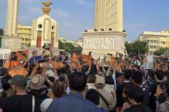Crisi politica tailandese Fotografie Stock
