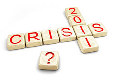 Crisis of 2012. Concept (computer generated royalty free illustration