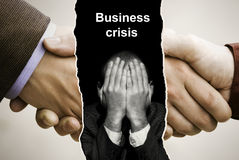 Crisis Royalty Free Stock Images