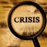 Crisis ilustración del vector
