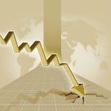 Crisis stock de ilustración