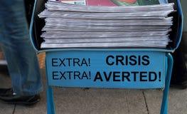 Crisis averted Stock Image