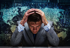 Crisis in business Stock Photography