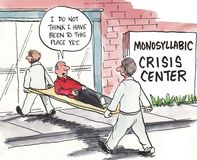 Crisis Center vector illustration