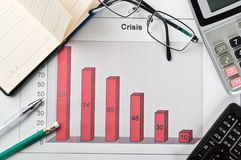 Crisis in the company Stock Photo