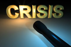 Crisis concept Stock Photos