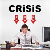 Crisis concept Stock Photography