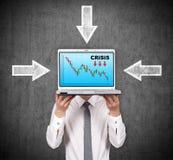 Crisis concept Stock Image