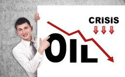 Crisis concept Royalty Free Stock Images
