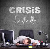 Crisis concept Royalty Free Stock Image