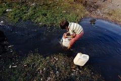 Crisis de agua Foto de archivo libre de regalías