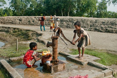 Crisis de agua Imagen de archivo libre de regalías