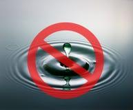 Crisis de agua imagen de archivo