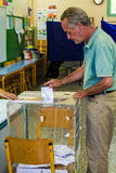 Crisis de Grecia, voto del referéndum Imágenes de archivo libres de regalías
