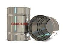 Crisis de la gasolina Imagen de archivo libre de regalías