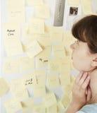 Crisis de la gerencia de las hojas de operación (planning) y de tiempo Fotos de archivo
