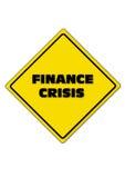 Crisis de las finanzas los 5 años próximos Fotos de archivo