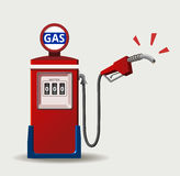 Crisis del petróleo Foto de archivo libre de regalías