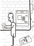 Crisis económica fotografía de archivo libre de regalías