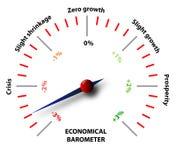 Crisis económica global ilustración del vector