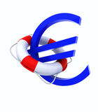 Crisis in Europe concept. 3d concept problem of the crisis in Europe Stock Photography