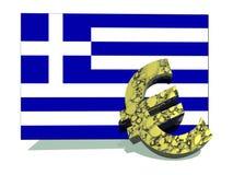 Crisis europea Imágenes de archivo libres de regalías