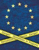 The crisis in the European Union Stock Photos