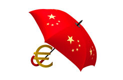 Crisis in the Eurozone Royalty Free Stock Photography