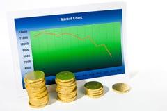Crisis financiera Imagenes de archivo