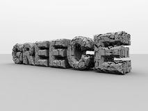 Crisis in greece. Royalty Free Stock Photography