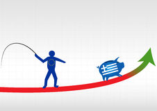 Crisis in Greece Royalty Free Stock Images