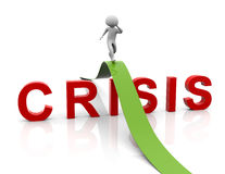 Crisis management strategy Royalty Free Stock Images
