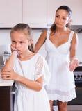Crisis of motherhood Royalty Free Stock Photo