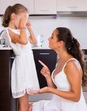 Crisis of motherhood Royalty Free Stock Photos