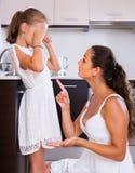 Crisis of motherhood Stock Photos