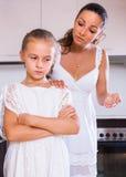 Crisis of motherhood Royalty Free Stock Photography