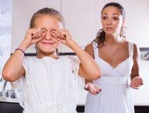 Crisis of motherhood Royalty Free Stock Images
